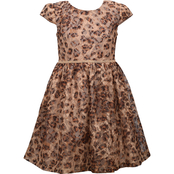 Bonnie Jean Girls Brown Lace Dirndl