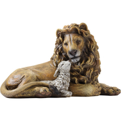 Roman Joseph Studios Lion and Lamb 6.5 in. Figurine