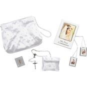 Roman Joseph Studios Girl's First Communion Purse with Rosary 6 pc. Set