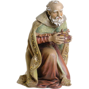 Roman Joseph Studios 27 in. Scale Color Kneeling Wise Man