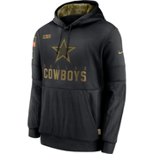 Nike NFL Dallas Cowboys Salute to Service Therma Fleece Hoodie