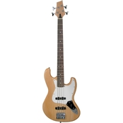 Kona Double Cutaway Jazz Style Electric Bass Guitar