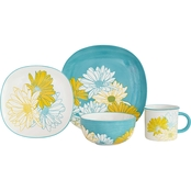 Baum Essex Daisy 16 pc. Dinnerware Set