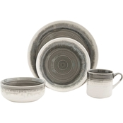 Baum Essex Hearth Grey 16 pc. Dinnerware Set