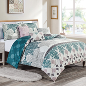 Elight Home Pyera Luxury 6 pc. Comforter Set