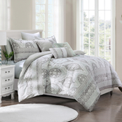 Elight Home Bello Luxury 6 pc. Comforter Set