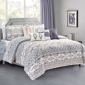 Elight Home Coris Luxury 7 pc. Comforter Set