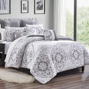 Elight Home Wylie Luxury 8 pc. Comforter Set