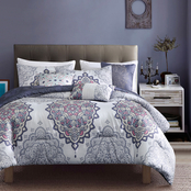 Elight Home Quanella Luxury 6 pc. Comforter Set