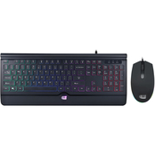Adesso Illuminated Gaming Keyboard and Mouse Combo