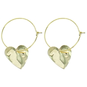 Panacea Heart Earrings
