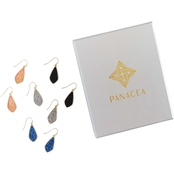 Panacea Drusy Drop Earring Set