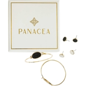 Panacea Drusy Earring and Bracelet Box Set