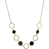 Panacea Drusy Statement Necklace
