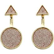 Panacea Sparkle Geometric Earrings