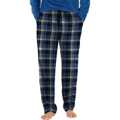 Izod Fleece Top with Flannel Pants Pajama Set
