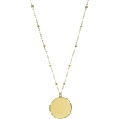 Panacea Large Smooth Locket Necklace