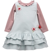 Bonnie Jean Infant Girls Tiered Jumper