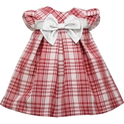 Bonnie Jean Infant Girls Plaid Trapeze Dress