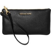 Michael Kors Jet Set Medium Leather Wristlet