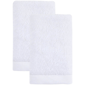 Ozan Premium Home 100% Genuine Turkish Cotton Horizon Washcloths Set of 2