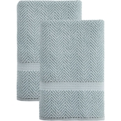 Ozan Premium Home 100% Turkish Cotton Maui Collection Luxury Bath Towels Set of 2