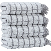 Ozan Premium Home Antique 100% Turkish Cotton Hand Towel 4 pk.