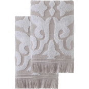 Ozan Premium Home 100% Genuine Turkish Cotton Panache Hand Towels 2 pc. Set