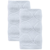 Ozan Premium Home Esperance Collection 100% Turkish Cotton 2 pc. Hand Towel Set