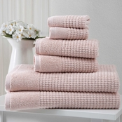 Ozan Premium Home Sorano Collection 100% Turkish Cotton 6 pc. Towel Set