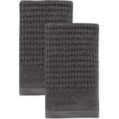 Ozan Premium Home Sorano Collection 100% Turkish Cotton Hand Towels 2 pc. Set
