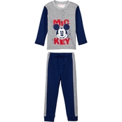 Disney Toddler Boys Mickey Fleece and Sweatpants 2 pc. Set