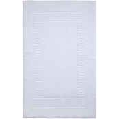 Ozan Premium Home Milos Luxury Greek Key 100% Turkish Cotton Bath Mat