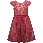 Bonnie Jean Little Girls Stretch to Overlay Dress