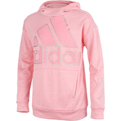 adidas Toddler Girls Tunic Fleece Hooded Pullover