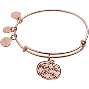Alex and Ani Color Infusion Pumpkin Spice II Expandable Wire Bracelet