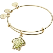 Alex and Ani Crystal Turtle Expandable Wire Bracelet