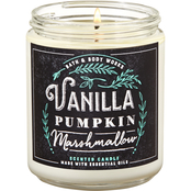 Bath & Body Works Fox Cafe: Single Wick Candle, Vanilla Pumpkin Marshmallow