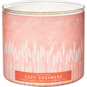 Bath & Body Works Warm Welcome Luminary: 3 Wick Candle, Cozy Cashmere