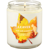 Bath & Body Works Fall Is Calling Icon Leaves Single Wick Candle