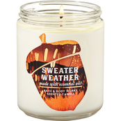 Bath & Body Works Fall Is Calling Icon Sweater Weather Single Wick Candle