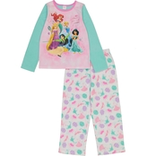 Disney Girls Princess Fleece 2 pc. Pajama Set