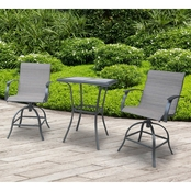 Courtyard Creations Woodenville Collection 3 pc. Balcony Set