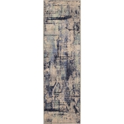 Karastan Lyric Indigo 2.4 x 7.1 ft. Runner Rug