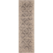 Karastan Inkle Dove 2.4 x 7.1 ft. Runner Rug