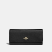 COACH Soft Trifold Leather Wallet