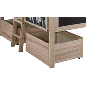 Signature Design by Ashley Wrenalyn 2 Underbed Rolling Storage Bins