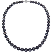 Sofia B. 14K White Gold Tahitian Cultured Pearl Strand Necklace