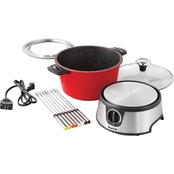 The Rock by Starfrit 3.2 qt. Electric Fondue Set