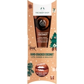 The Body Shop Hand-Cracked Coconut Lips Hands and Nails Kit